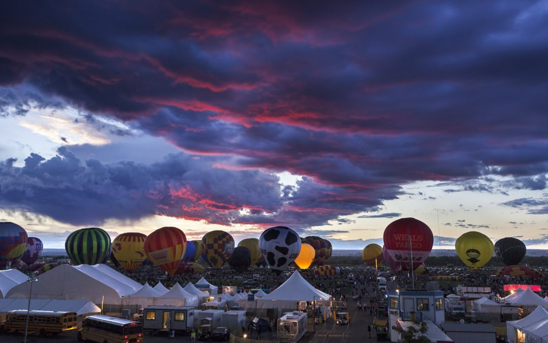 Albuquerque Sights & Scenes: Balloon Fiesta Park